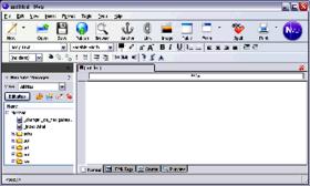 logiciel création de site